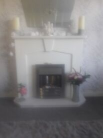 Electric Fire and Complete Surround