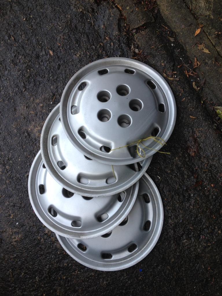 Motorhome wheel trims 15 inch