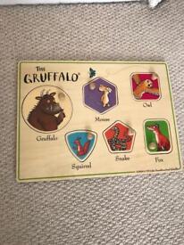 Wooden Gruffalo puzzle