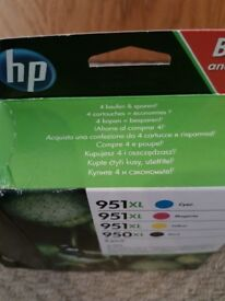 Hp ink set 950 and 951 Xl