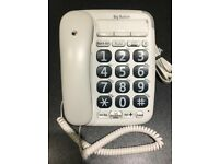 BT Big button corded telephone