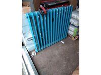 Cast iron radiator - 79cm x 70 cm