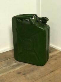 20ltr Metal Petrol Jerry Can -Used