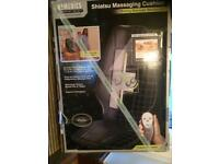 Homedics Shiatsu Massage Massaging Cushion Chair Therapist Select Waitrose