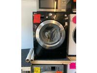 LG black 9kg ld 1400 spin washing machine