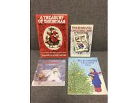 Bundle of 4 x vintage retro Christmas children's books Rare items SDHC
