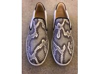 Christian Louboutin Men's python slip on size uk10