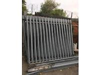 8ft steel fencing pannels and posts