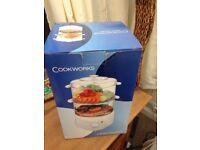 Brand new cookworks steamer