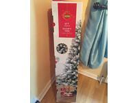 6ft snowy Christmas tree