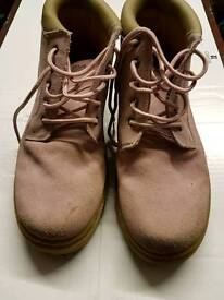 Cotton Traders Pink Suede Size 8 Boots