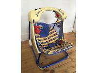 Fisher price deluxe take along swing