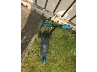 Little tikes 3 wheel scooter as new blue/black £10.00