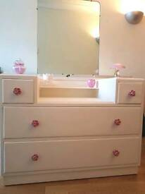 Vintage upcycled dressing table