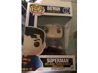 Superman pop figure