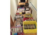 Around 5000 7inch records for sale.Sold as one job lot £1500