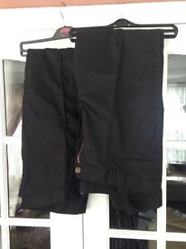 Two pairs of work trousers