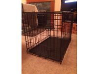 Dog Crate, Small, Two Door Rrp £45 Selling for £25.00