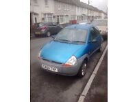 Ford KA genuine reason for sale, a good runner, MOT to June 2017, very good on petrol, a bargain
