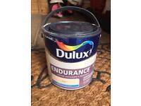 Dulux endurance ivory/magnolia matt emulsion. DIY decorating paint