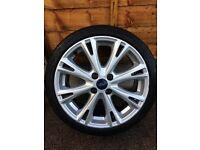 Ford Fiesta st line alloy wheels