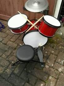 BUSKING mini Drum kit