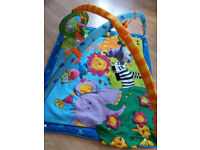 Tiny Love Gymini Super Deluxe Lights and Music Baby Activity Play Gym Mat
