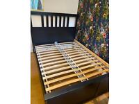 IKEA standard double bed and mattress