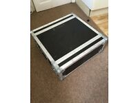 2U Bass amp flightcase by Flightcase Warehouse