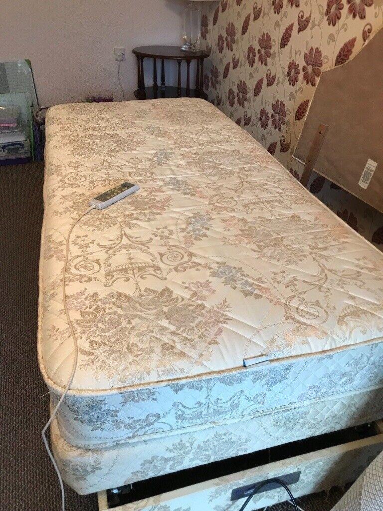 Pleasant Adjustamatic Electric Single Bed In Aberdeen Gumtree Inzonedesignstudio Interior Chair Design Inzonedesignstudiocom