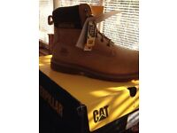 New with tags and box steel toe cap