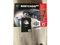 Nintendo 64 BOX ONLY! No console