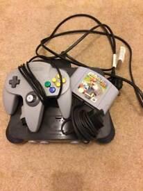 For Sale Nintendo 64 & Mario Karts