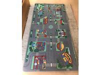 Play road rug