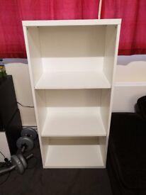 Ikea besta unit with shelves