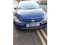 Good family car, 7 seater peugeot 307 sw