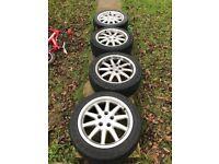 """Audi 17"""" Alloy Wheels 5x112 235/45/17"""