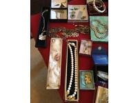 Job Lot Antique,vintage modern jewellery