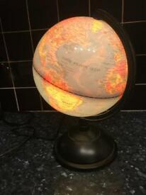 Globe of the World Lamp