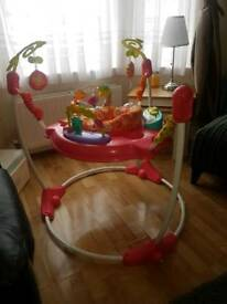 Pink Fisher Price Jumperoo ex condition
