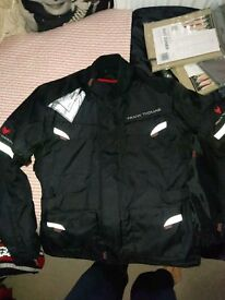 As new XXL Frank Thomas Motorcycle jacket