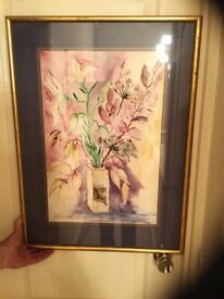 ORIGINAL WATER COLOUR BY DIANE NORMAN