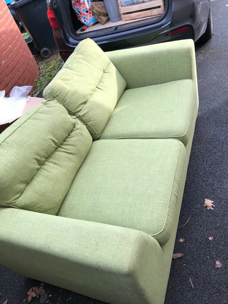 Sensational For Sale 2 Seater Lime Green Sofa Offers Welcome In Wellington Somerset Gumtree Bralicious Painted Fabric Chair Ideas Braliciousco