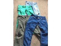 Ladies Size 8 Jeans, 4 pairs.