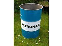 Oil drum incinerator