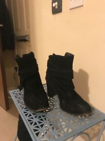 Zara's ankle boots