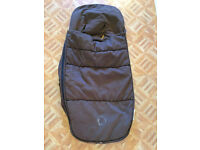 Brown Bugaboo footmuff