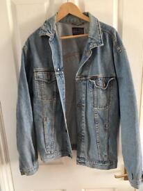 Vintage denim jacket XL