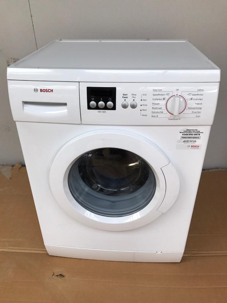 New Bosch 6kg washing machine RRP £299