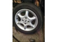 Alloy wheels 4/100 14 inch